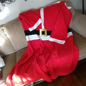 Santa blanket with arms